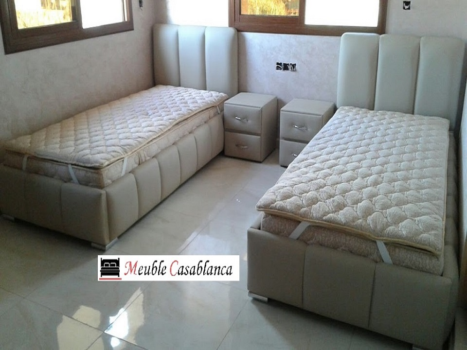 chambre a couch une place a casablanca lit une place au maroc. Black Bedroom Furniture Sets. Home Design Ideas